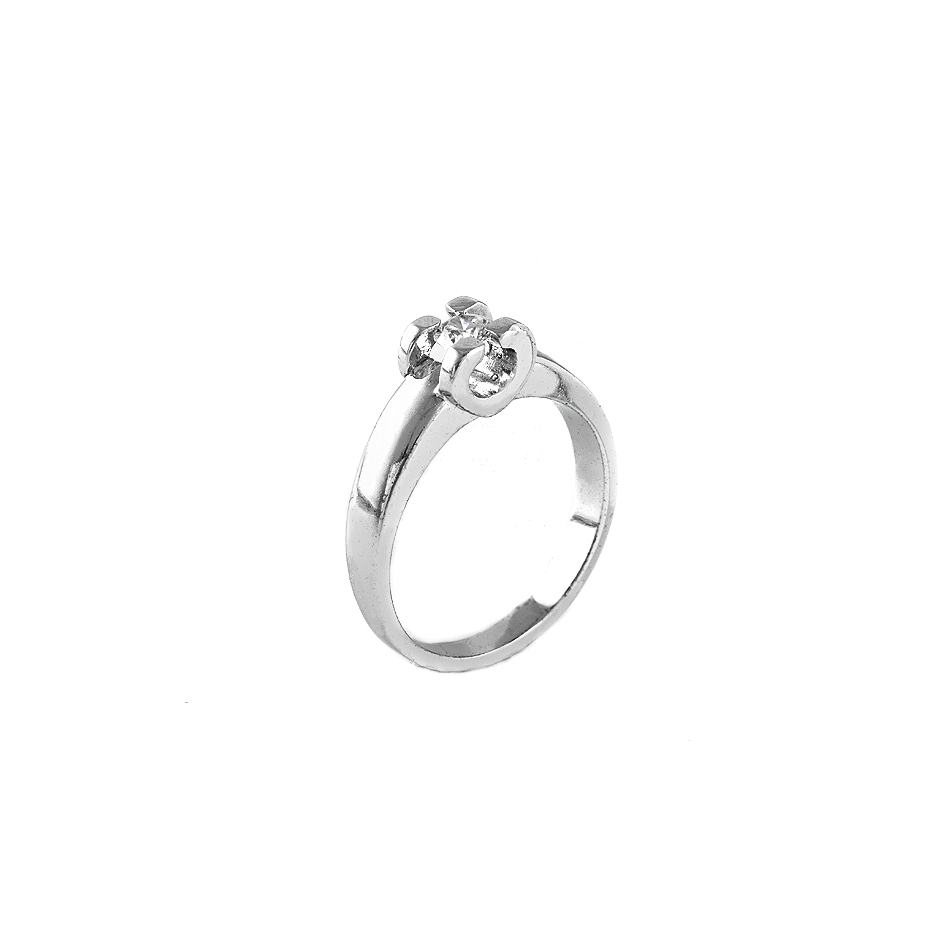 Solitario diamante. ( Rf 03535BR )