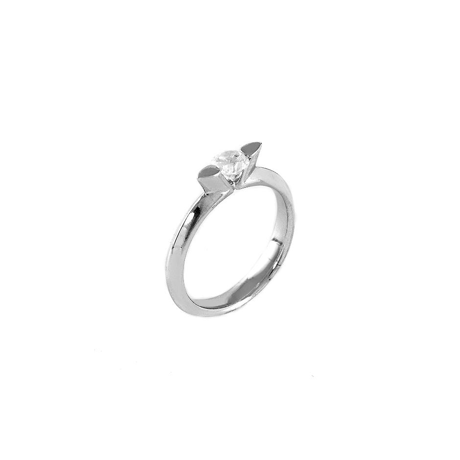 Solitario diamante. ( Rf 04849BR )