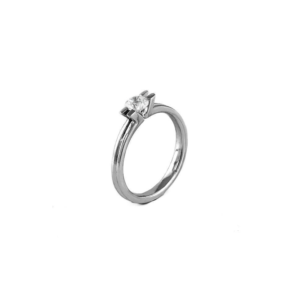 Solitario diamante. ( Rf 04861BR )