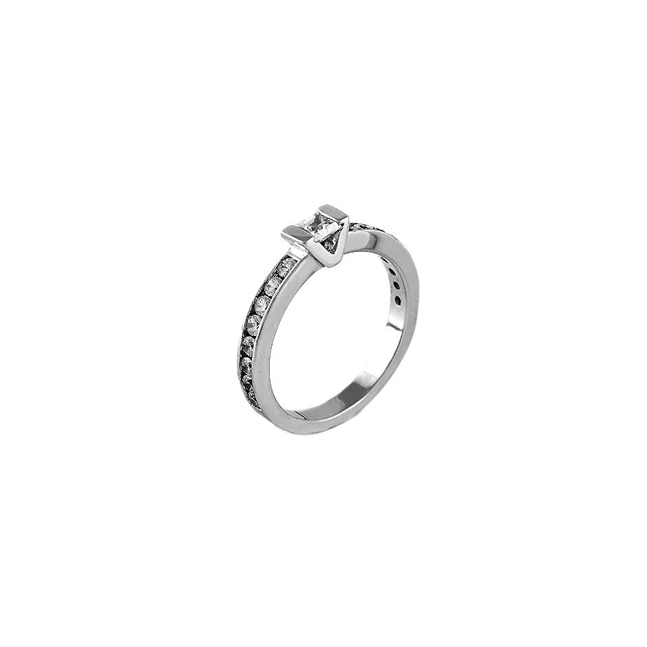 Solitario diamantes. ( Rf 04565BR )