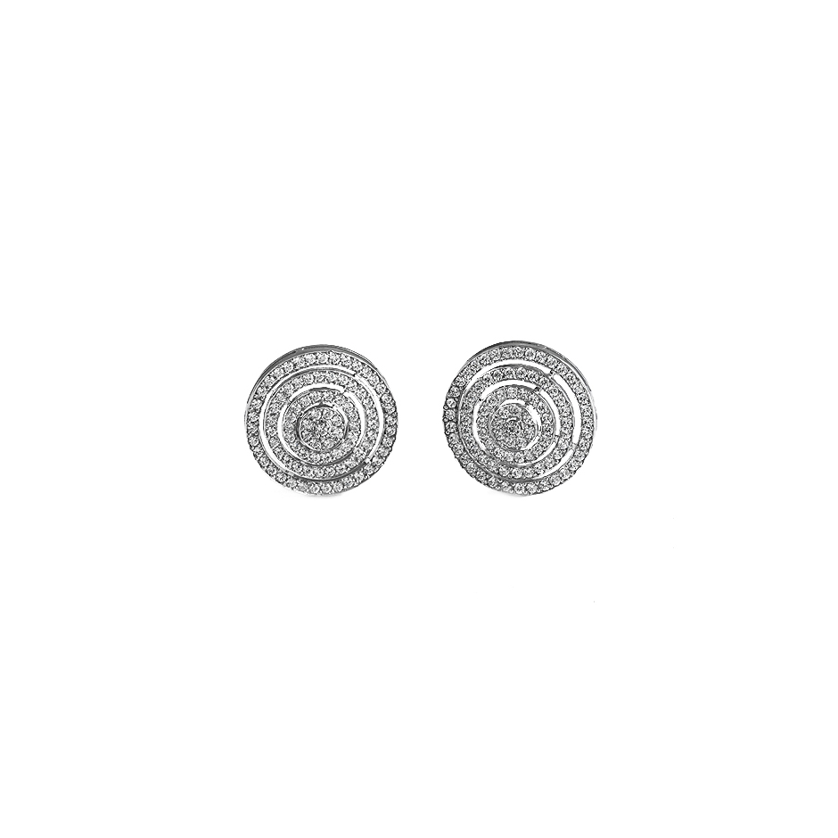 Pendientes diamantes. ( Rf 04184P-BR )