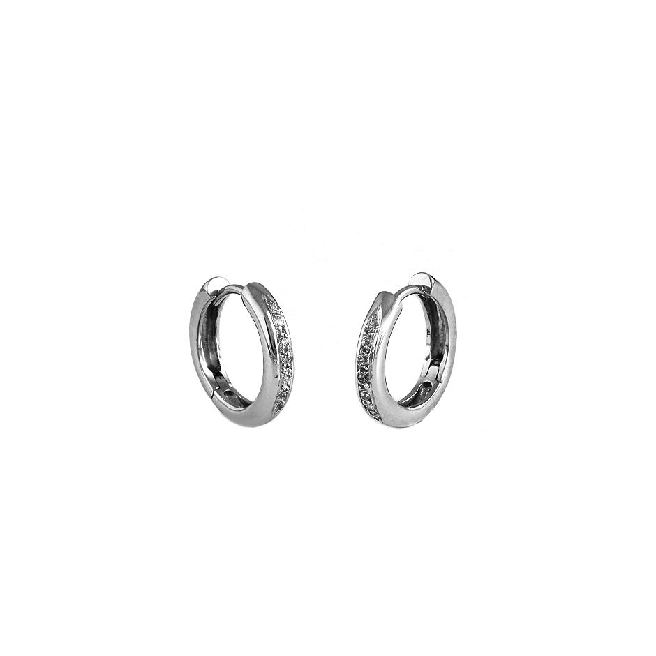 Pendientes diamantes. ( Rf 03105BR )