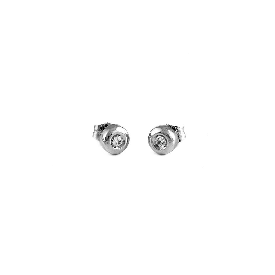 Pendientes con diamantes ( 01935BR )