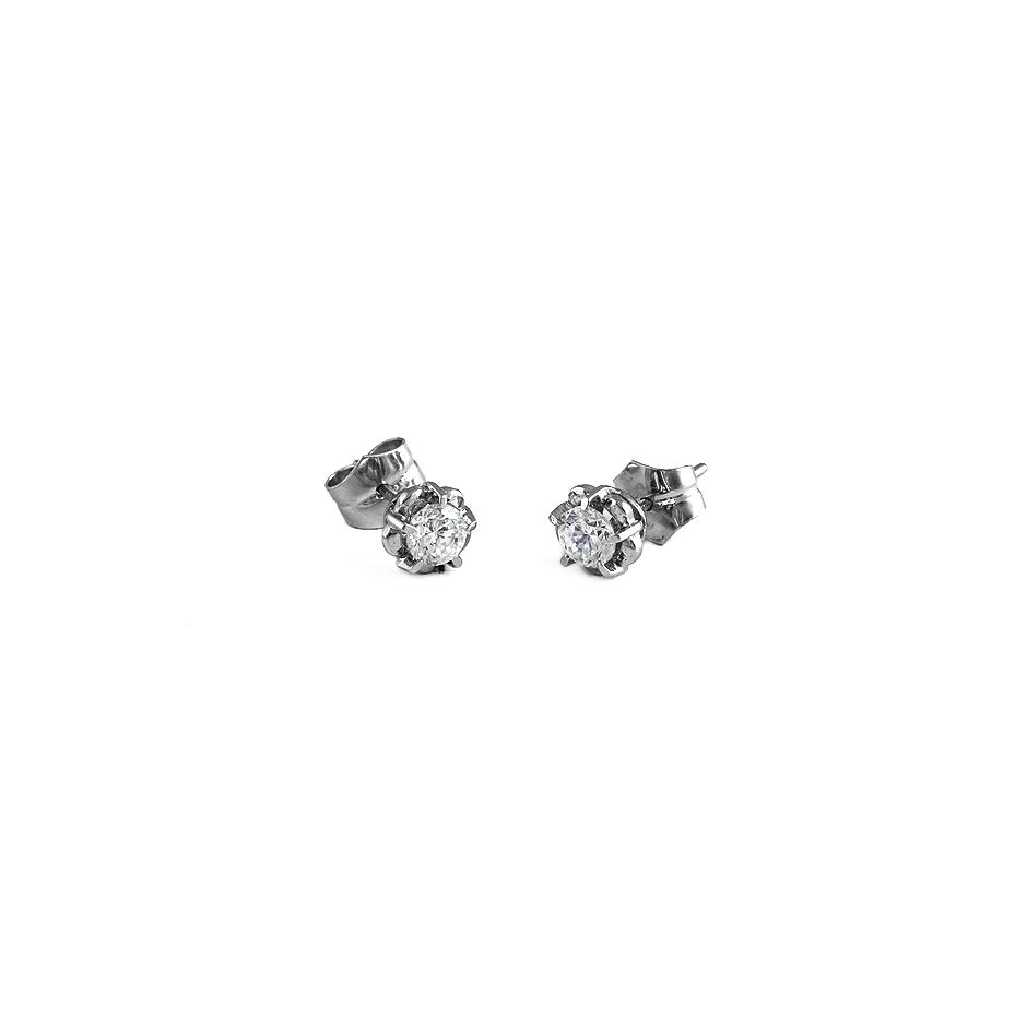 Pendientes con diamantes ( 04062BR )