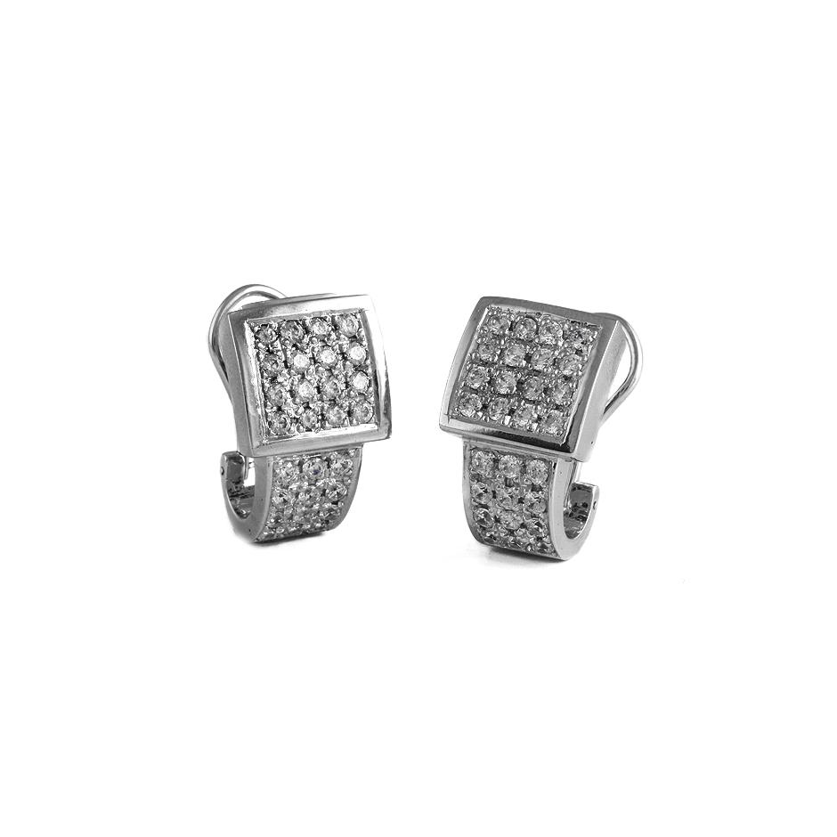Pendientes con diamantes  ( Rf 03359PBR )