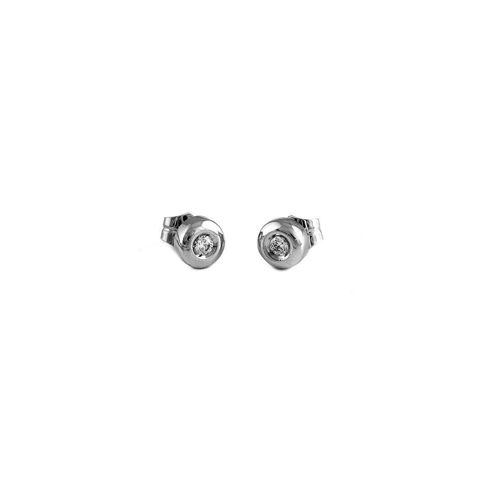 Pendientes con diamantes ( 01938BR )