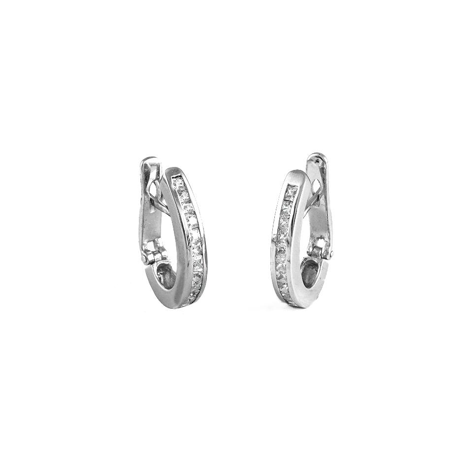 Pendientes diamantes. ( Rf 00815BR )