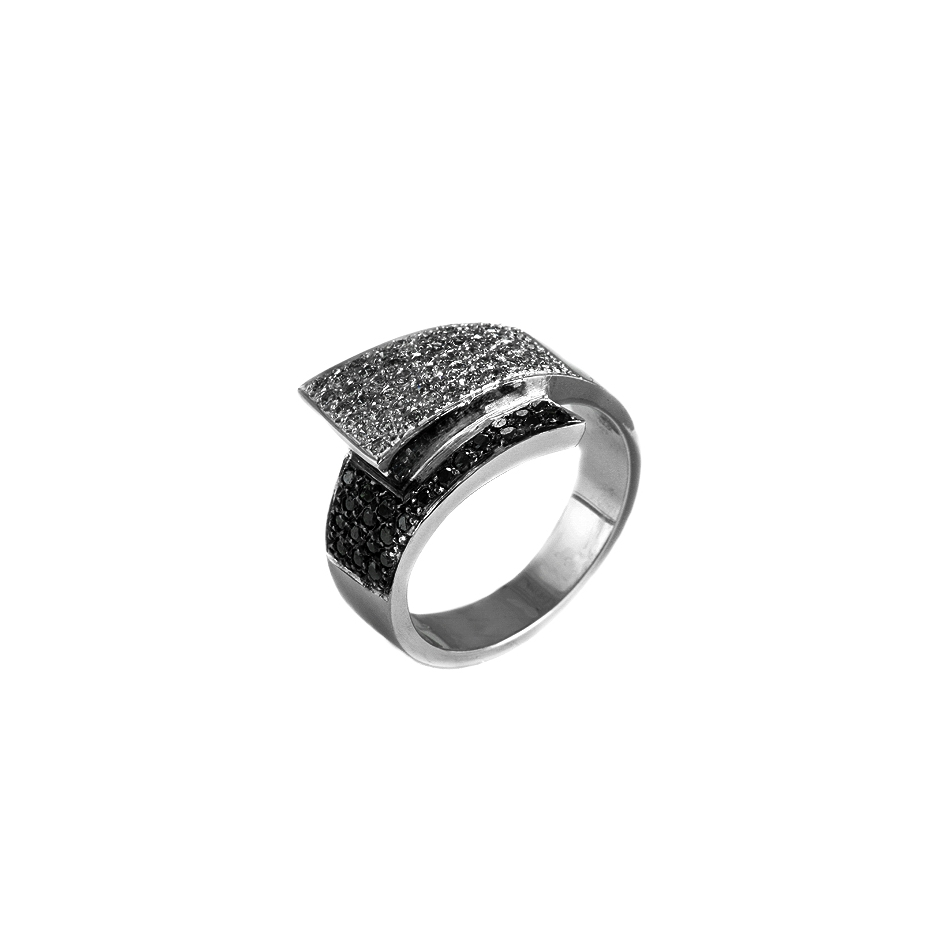 Sortija diamantes. ( 03034BR-N )