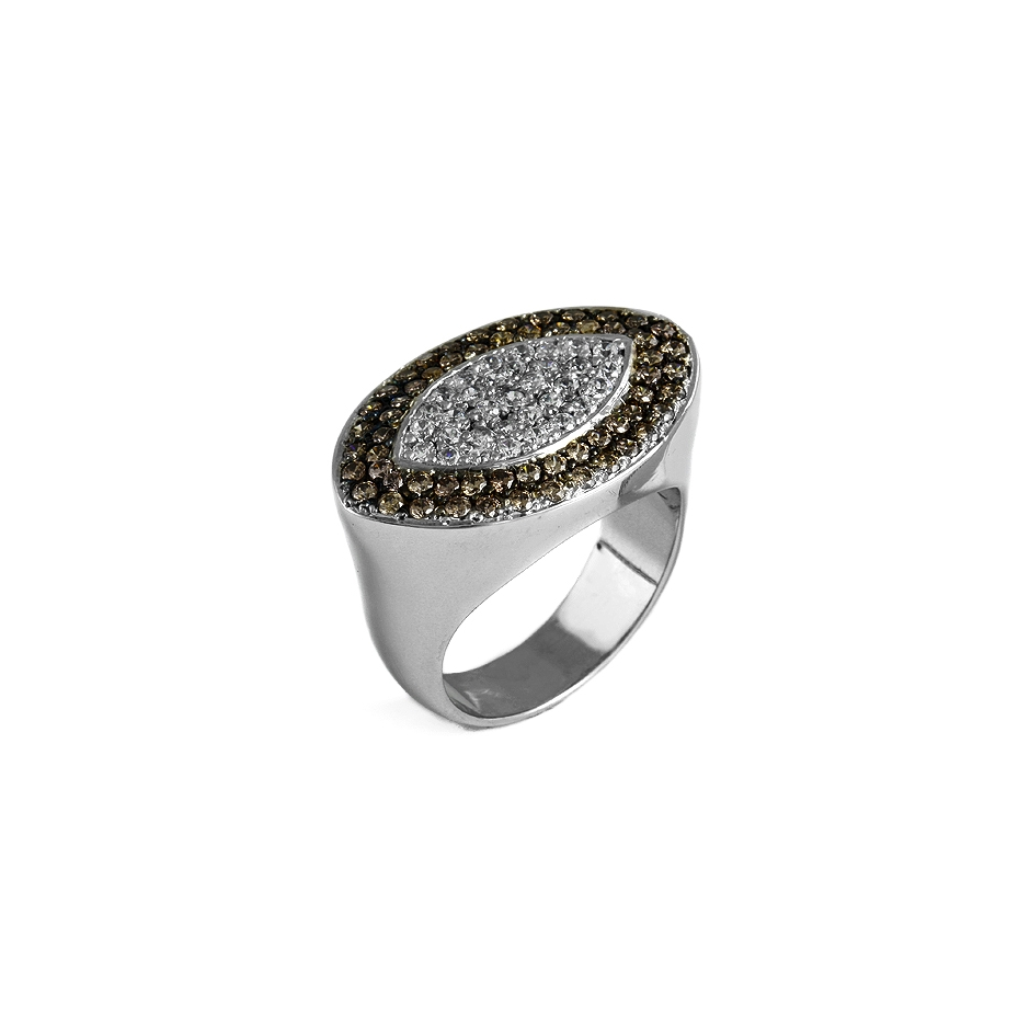 Sortija diamantes. (04301BR-BROMW  )