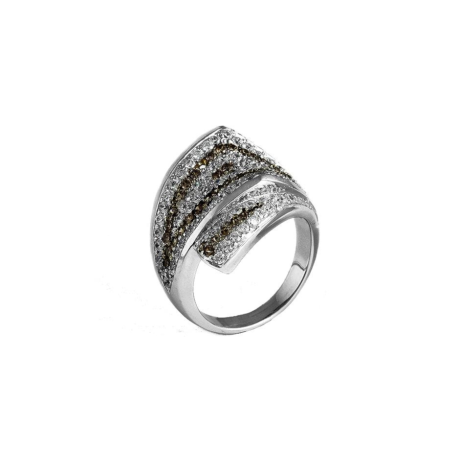 Sortija diamantes. (04178BR-BROW)