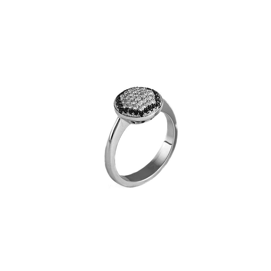 Sortija diamantes. (06265-SBR-N)