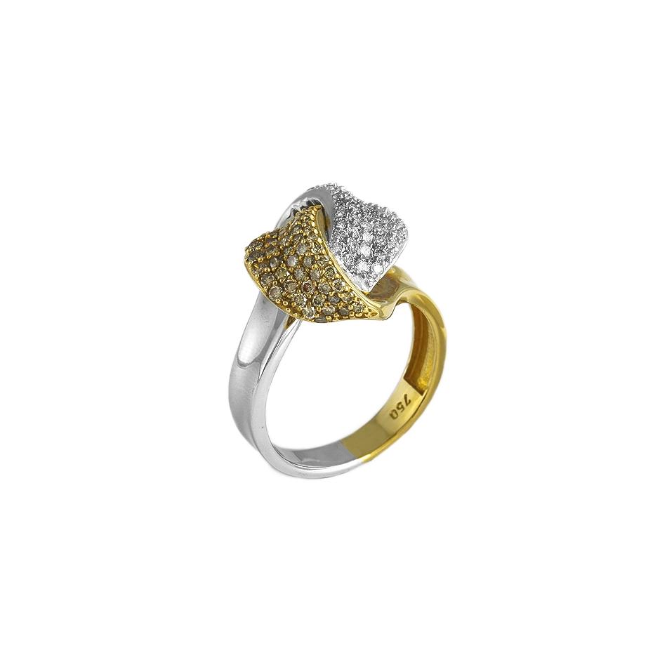 Sortija diamantes. 06279BR-BROW)