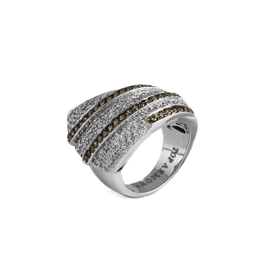 Sortija diamantes. (04213BR-BROW)