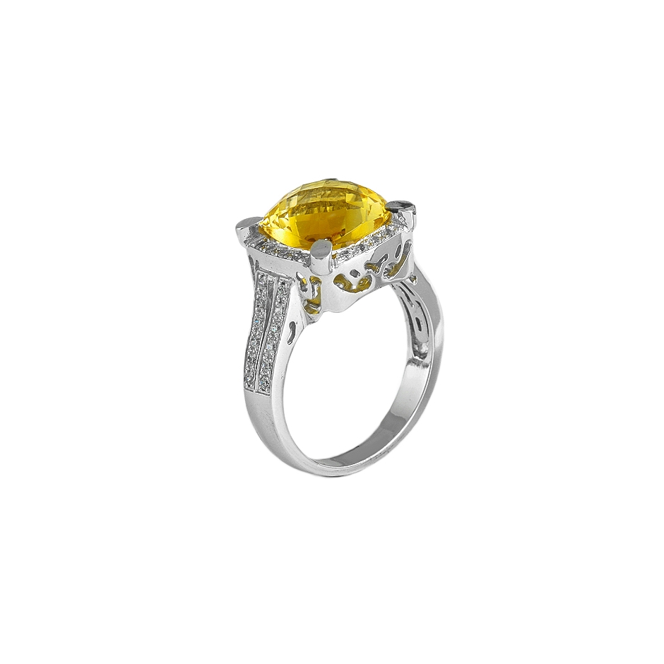 Sortija diamantes. (Rf 05131S-BR)