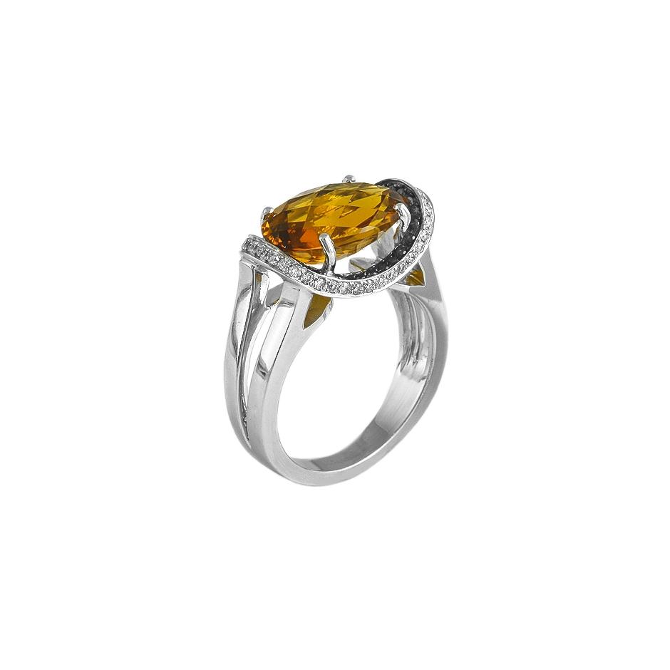 Sortija diamantes. (Rf 05299BR-N)