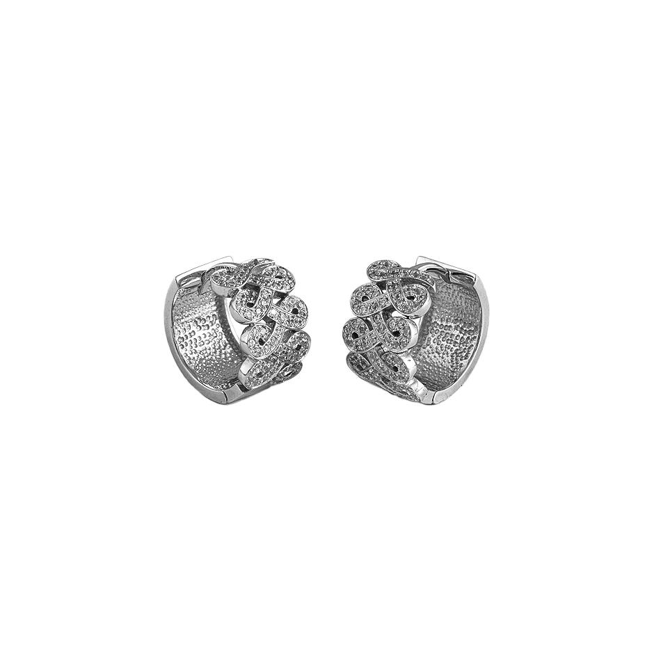Pendientes diamantes. ( Rf 05306BR )