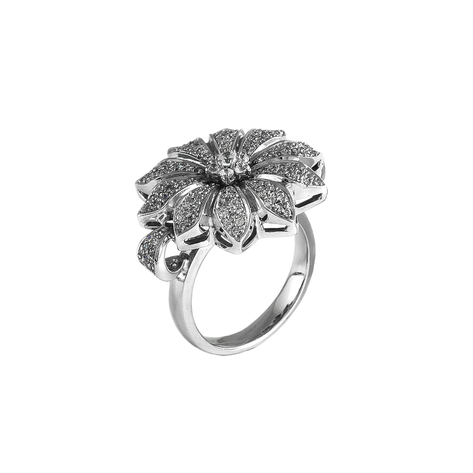 Sortija diamantes. (Rf 04693S-BR)