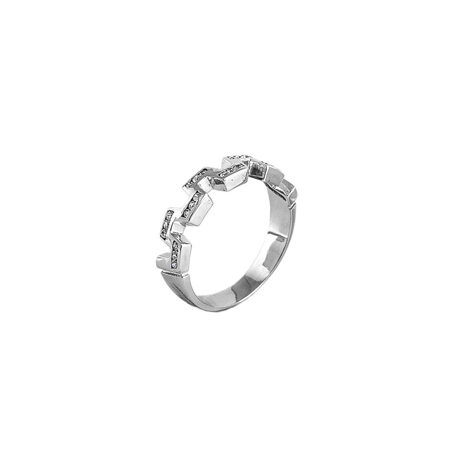 Sortija diamantes (Rf 04289BR)