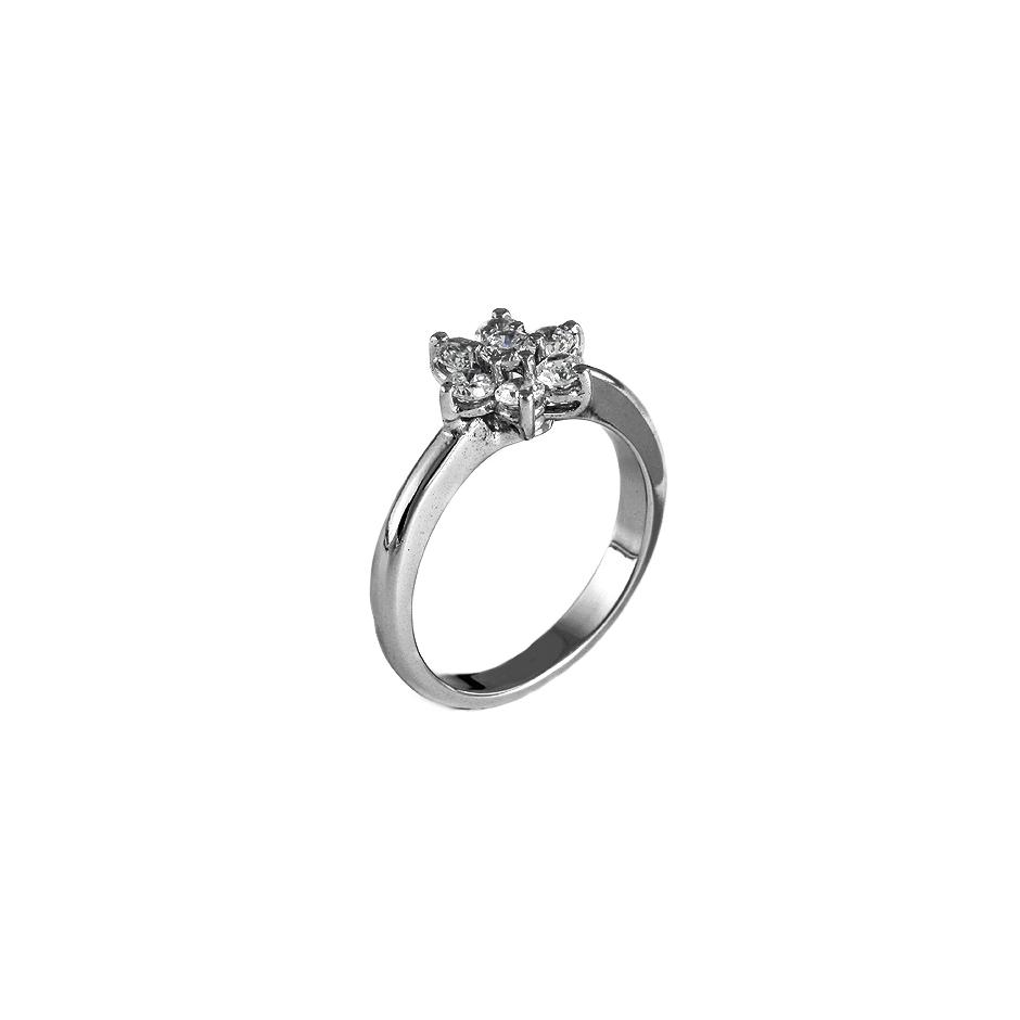Sortija diamantes. (Rf 05284S-BR)
