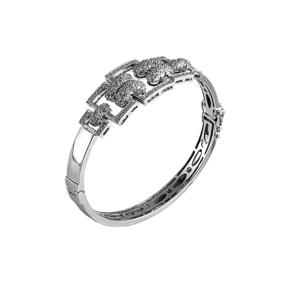 Pulsera diamantes. (Rf.04702BR)