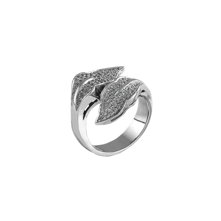 Sortija diamantes. (Rf 05003S-BR)