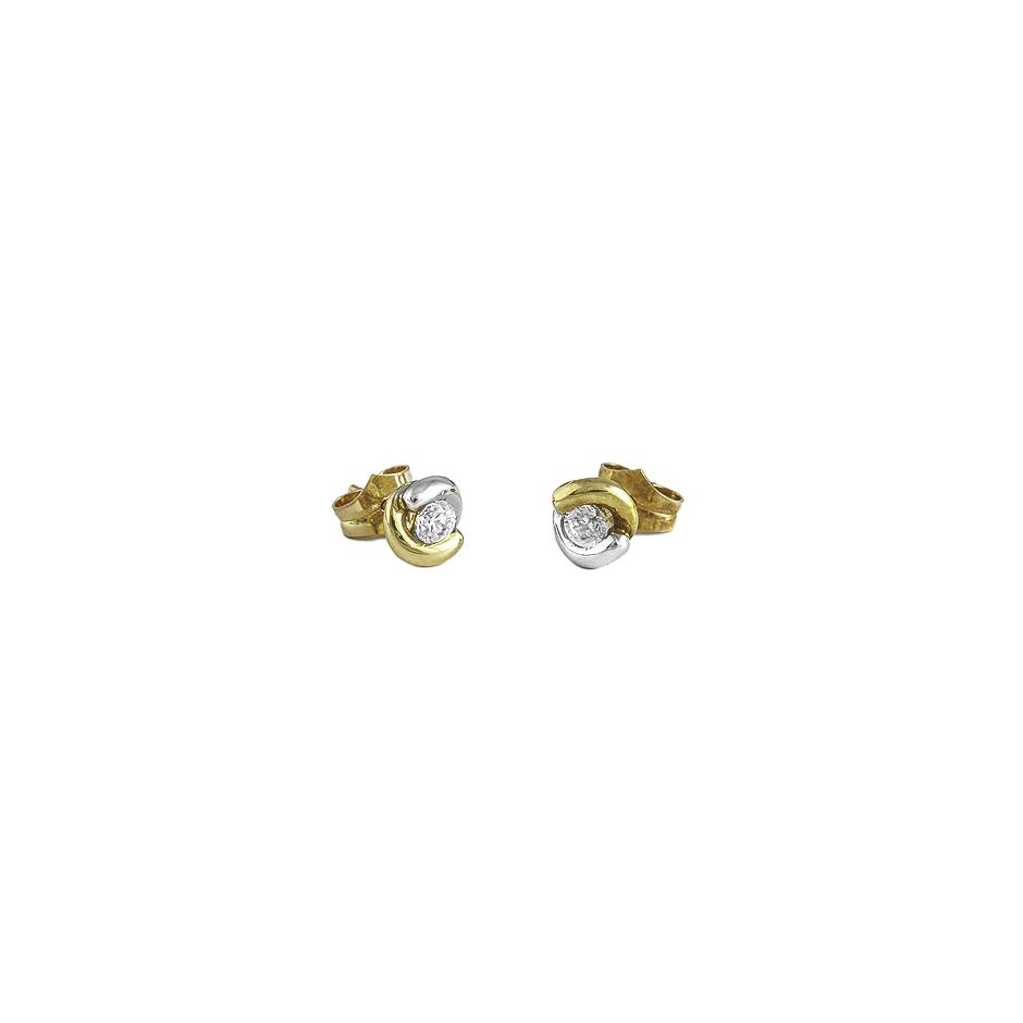 Pendientes con diamantes ( 01193BR)
