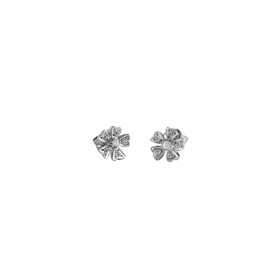 Pendientes con diamantes ( 04430BR)