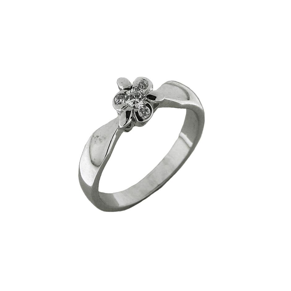 Solitario diamantes. ( Rf 04991BR )